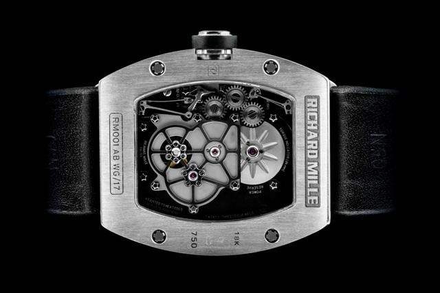 RM 001 Tourbillon - chiếc đồng hồ làm nên tên tuổi Richard Mille   - 3