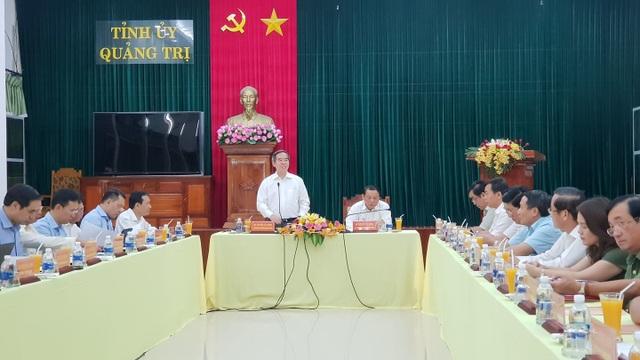 Trưởng Ban Kinh tế Trung ương tri ân liệt sĩ, thăm gia đình chính sách tại Quảng Trị - 3