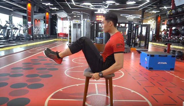 5 động tác khiến mỡ bụng tan biến - 2
