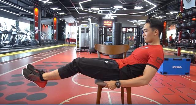 5 động tác khiến mỡ bụng tan biến - 3