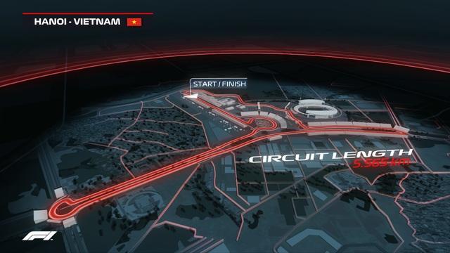 Chính thức mở bán toàn bộ các hạng vé chặng đua F1 Việt Nam - 1