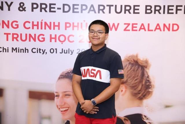 Nam sinh Việt 16 tuổi xuất sắc nhận học bổng Chính phủ New Zealand - 1