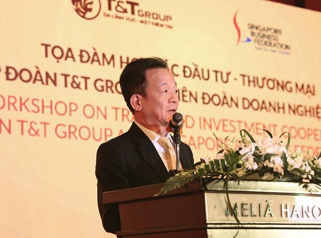 Tập đoàn TT cùng Liên đoàn doanh nghiệp Singapore trao đổi cơ hội hợp tác - 1