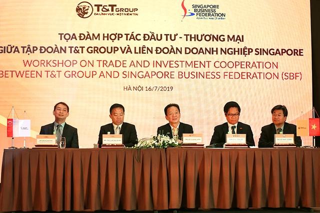 Tập đoàn TT cùng Liên đoàn doanh nghiệp Singapore trao đổi cơ hội hợp tác - 3