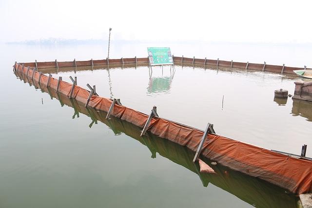 Nước Hồ Tây đổi màu sau thí điểm công nghệ làm sạch Nhật Bản - 8