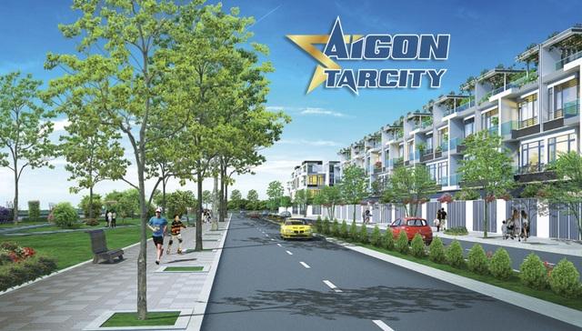 Dự án Sài Gòn Star City: Điểm sáng của bất động sản Tây Bắc Sài Gòn - 1