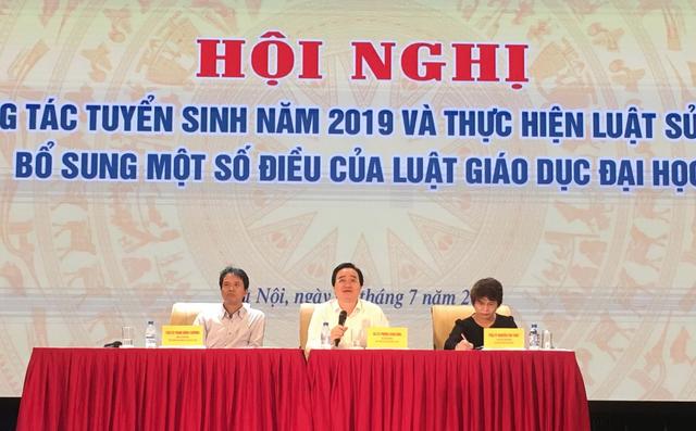 """Bộ trưởng Phùng Xuân Nhạ: """"Điểm thi môn Tiếng Anh, Lịch sử chưa chấp nhận được"""" - 1"""