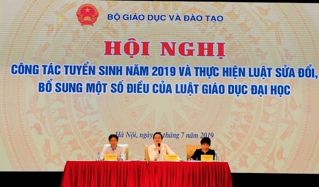 """Bộ trưởng Phùng Xuân Nhạ: """"Liên kết đào tạo bừa bãi thì phải xử lý"""" - 1"""