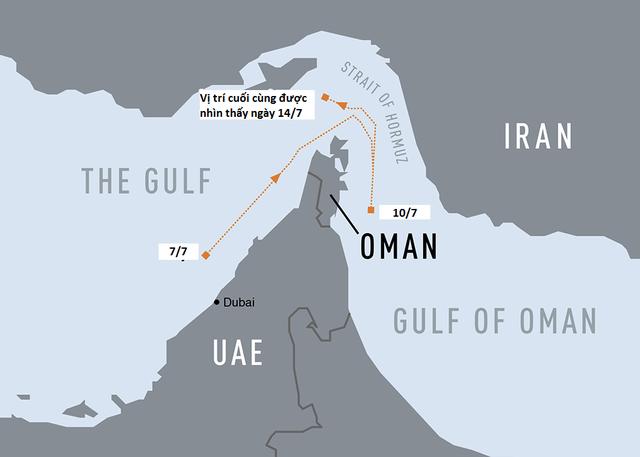 """Iran bị nghi bắt tàu chở dầu """"mất tích"""" tại eo biển Hormuz - 2"""