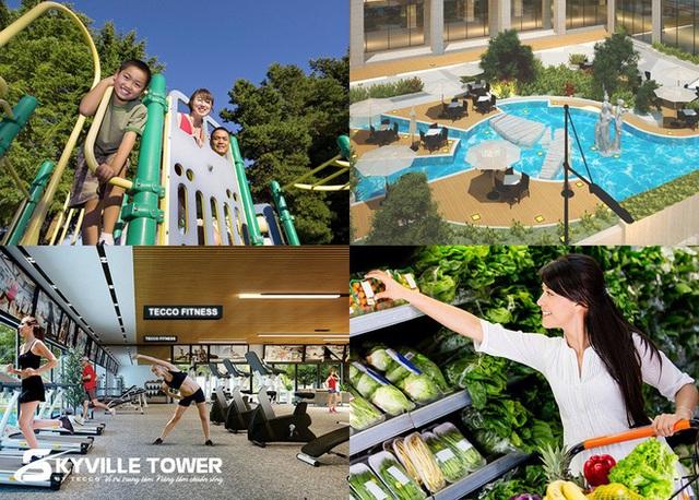 Tecco Skyville Tower tung chính sách bán hàng siêu khủng dịp chuẩn bị bàn giao nhà - 3