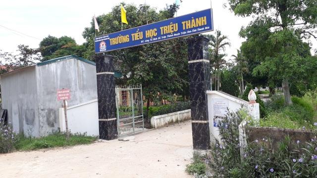 Trường Tiểu học Triệu Thành quyết tâm thực hiện tốt công tác dạy và học - 1