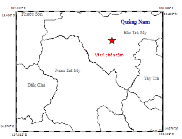 Động đất ở thủy điện Sông Tranh 2