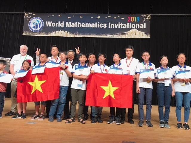 Học sinh Việt Nam giành thành tích xuất sắc tại kỳ thi Toán Quốc tế WMI - 2