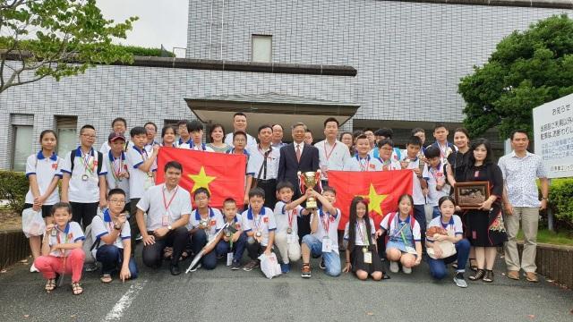 Học sinh Việt Nam giành thành tích xuất sắc tại kỳ thi Toán Quốc tế WMI - 3