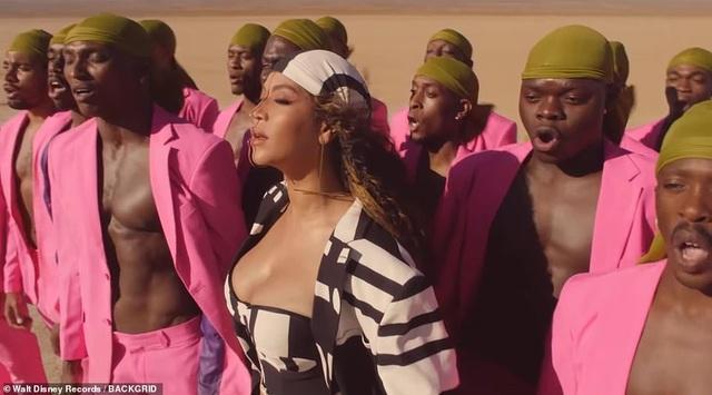 Beyonce thay 10 bộ váy trong MV mới - 12