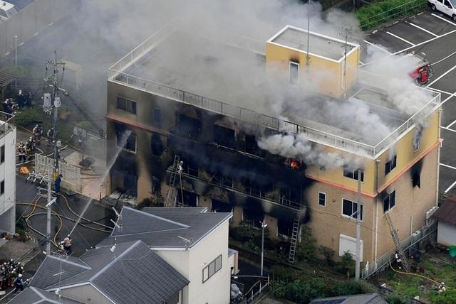 Cháy xưởng phim hoạt hình nổi tiếng tại Nhật Bản, ít nhất 24 người chết - 1