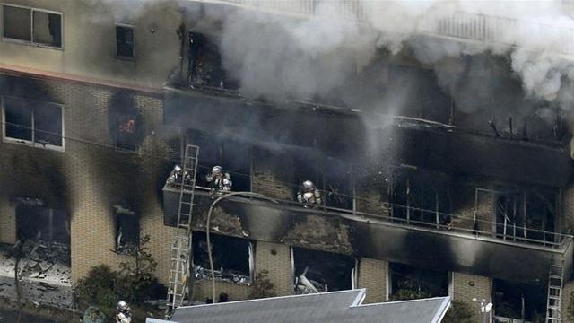 Cháy xưởng phim hoạt hình nổi tiếng tại Nhật Bản, ít nhất 24 người chết - 3