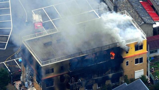 Cháy xưởng phim hoạt hình nổi tiếng tại Nhật Bản, ít nhất 24 người chết - 2