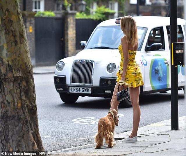 Kimberley Garner mặc gợi cảm đưa cún cưng ra phố - 11