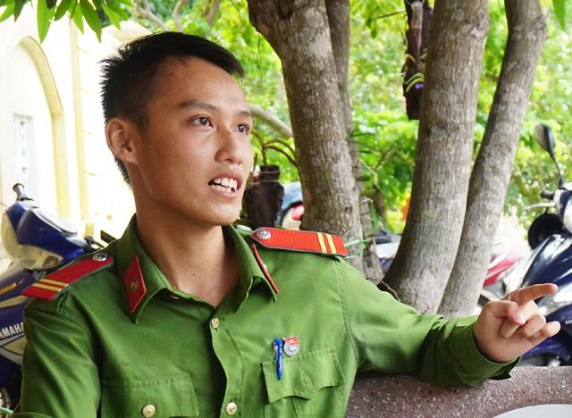 Chiến sỹ công an nghĩa vụ ở Nghệ An giành vị trí thủ khoa toàn quốc khối C03 - 2