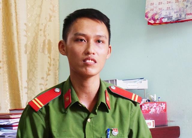 Chiến sỹ công an nghĩa vụ ở Nghệ An giành vị trí thủ khoa toàn quốc khối C03 - 1