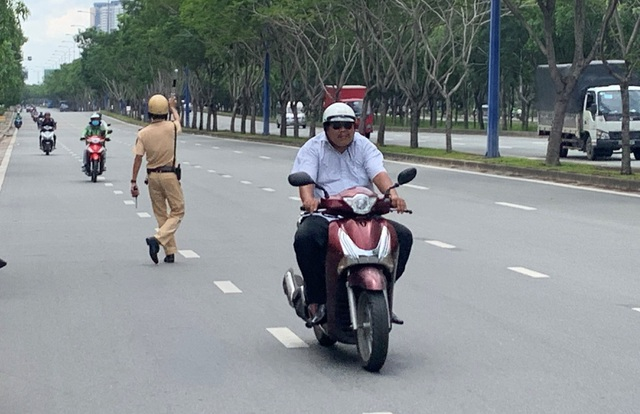 3 days of total inspection of vehicles: a fine of almost one billion VND, mainly violent motorcycle - 7