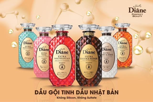 Moist Diane, thương hiệu dầu gội tinh dầu, không silicon Nhật Bản đã phủ sóng khắp Việt Nam - 1