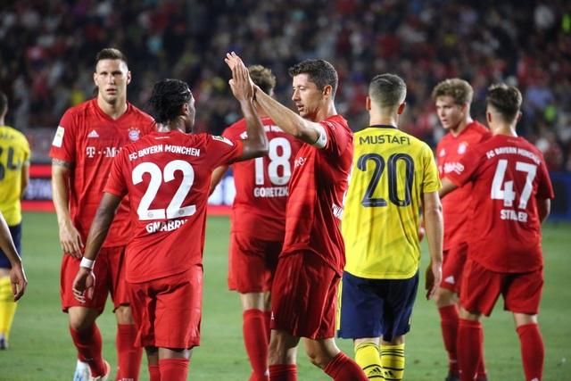 Lewandowski lập công, Bayern Munich vẫn thua Arsenal - 4