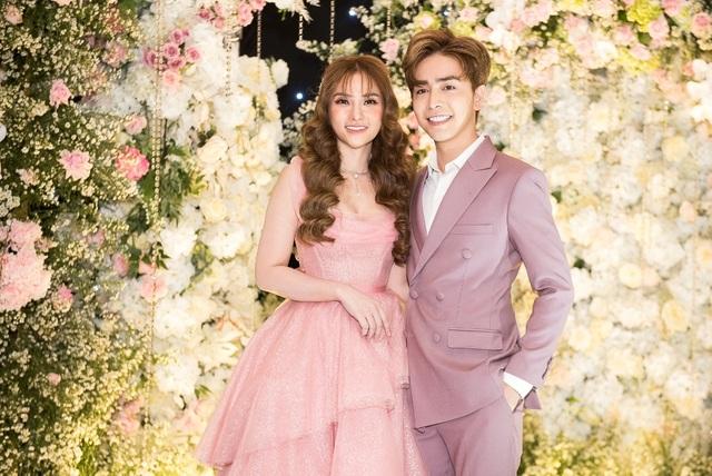 Ca sĩ Thu Thủy và chồng kém 10 tuổi hạnh phúc trong tiệc cưới - 3