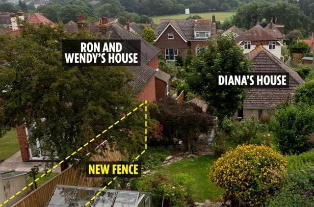 Nguy cơ mất ngôi nhà trị giá hơn 15 tỷ đồng chỉ vì tranh chấp ranh giới hàng rào với hàng xóm - 1