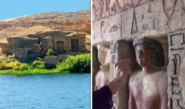 Điều bất thường gây kinh ngạc trong hầm mộ hơn 4000 năm tuổi - 1