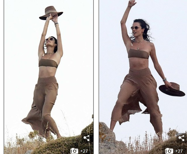 Alessandra Ambrosio khoe dáng thon trong kỳ nghỉ ở Hi Lạp - 4