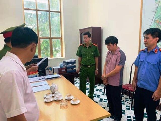 Đình chỉ công tác Phó giám đốc Ban GPMB thành phố Thanh Hóa - 1