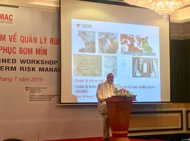 """Quốc tế chung tay cùng Việt Nam trong """"cuộc chiến"""" dai dẳng với bom mìn chưa nổ - 1"""