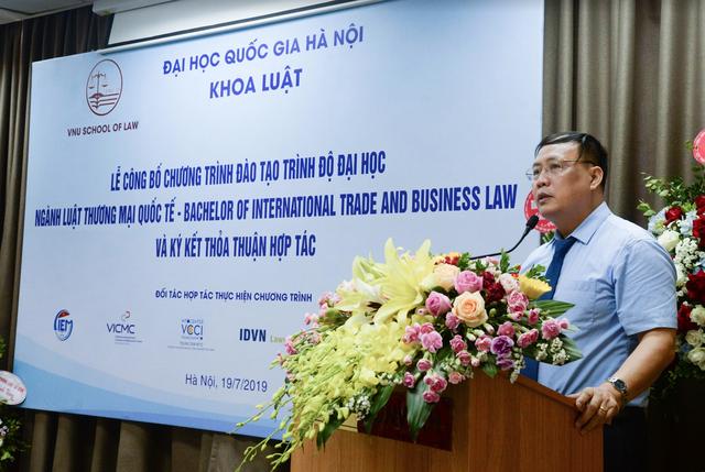 Khoa Luật – ĐH Quốc gia Hà Nội ra mắt ngành Luật Thương mại quốc tế - 2