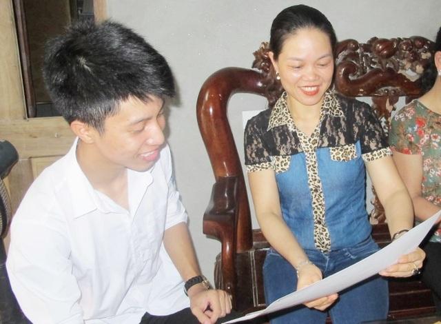 Thủ khoa 2 khối A, B của tỉnh Ninh Bình mơ ước trở thành bác sĩ giỏi - 1