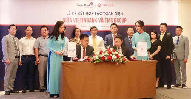TMS Group và VietinBank thắt chặt quan hệ, khách hàng hưởng lợi - 1