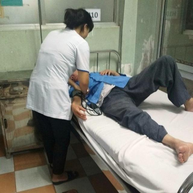 Bình Định: Điều dưỡng tố bị bác sĩ đánh nhập viện - 1