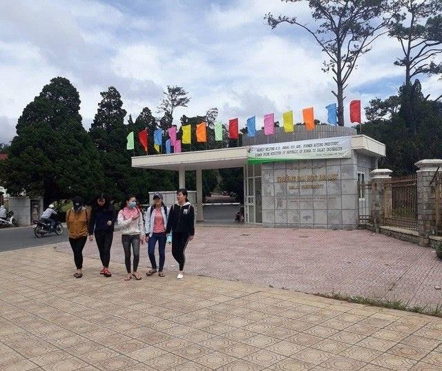 Điểm chuẩn trúng tuyển năm 2019 vào Trường Đại học Đà Lạt từ 18 đến 24 điểm - 1