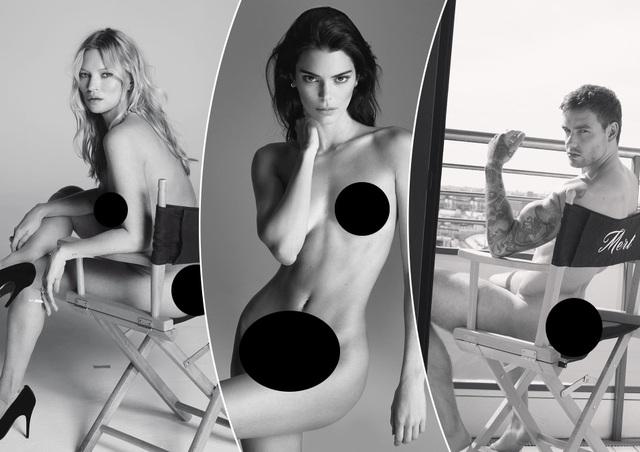 Hàng loạt ngôi sao chụp hình khỏa thân với nhiếp ảnh gia danh tiếng - 1
