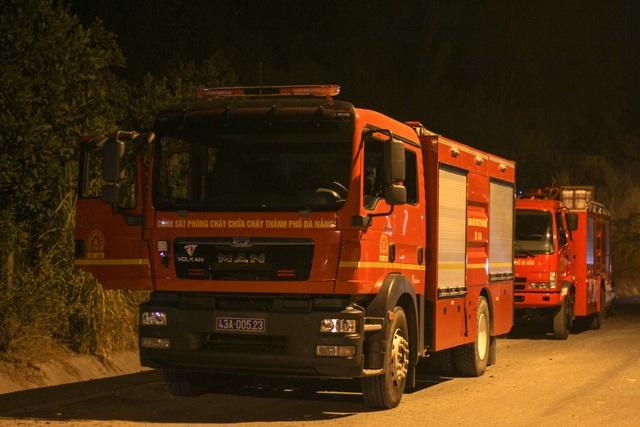 Cháy núi Phước Tường ở Đà Nẵng