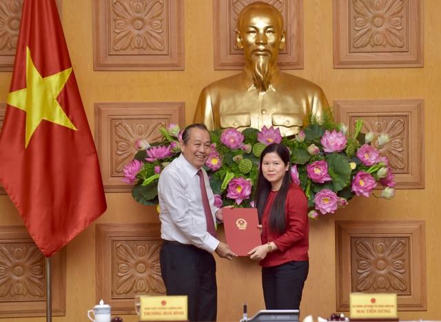 Công bố quyết định Thủ tướng Chính phủ về công tác cán bộ - 1