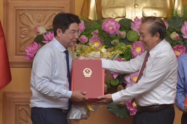 Công bố quyết định Thủ tướng Chính phủ về công tác cán bộ - 2