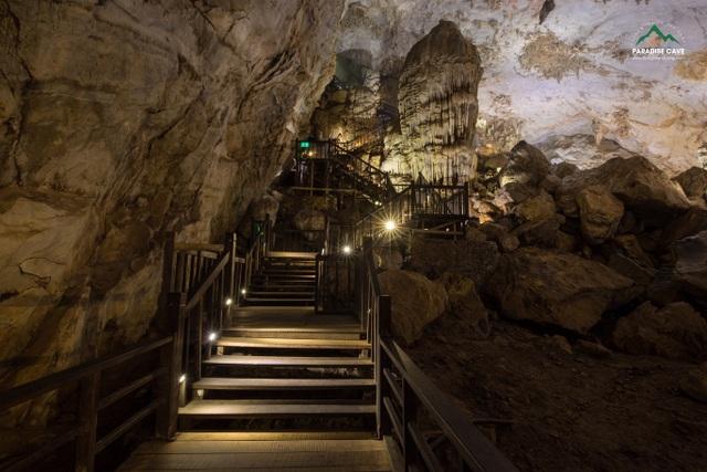 Động Thiên Đường được công nhận có hệ thống thạch nhũ, măng đá độc đáo và tráng lệ nhất Châu Á - 4