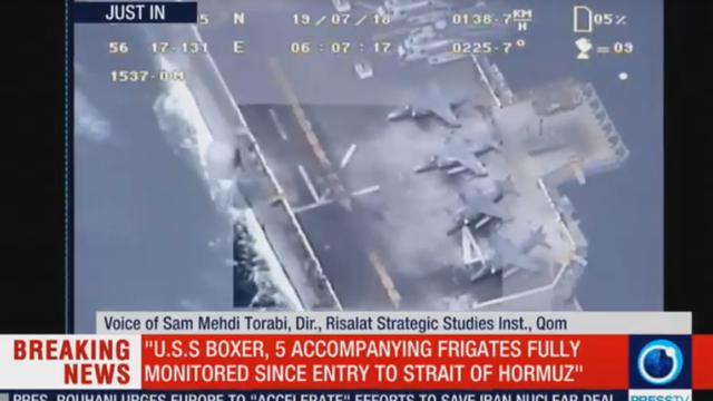 """Iran tung video tố Mỹ """"nói dối trắng trợn"""" vụ bắn rơi máy bay không người lái - 1"""