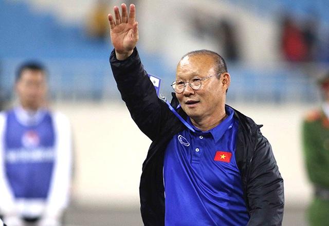 HLV Park Hang Seo không dẫn dắt U22 Việt Nam gặp U22 Trung Quốc - 1