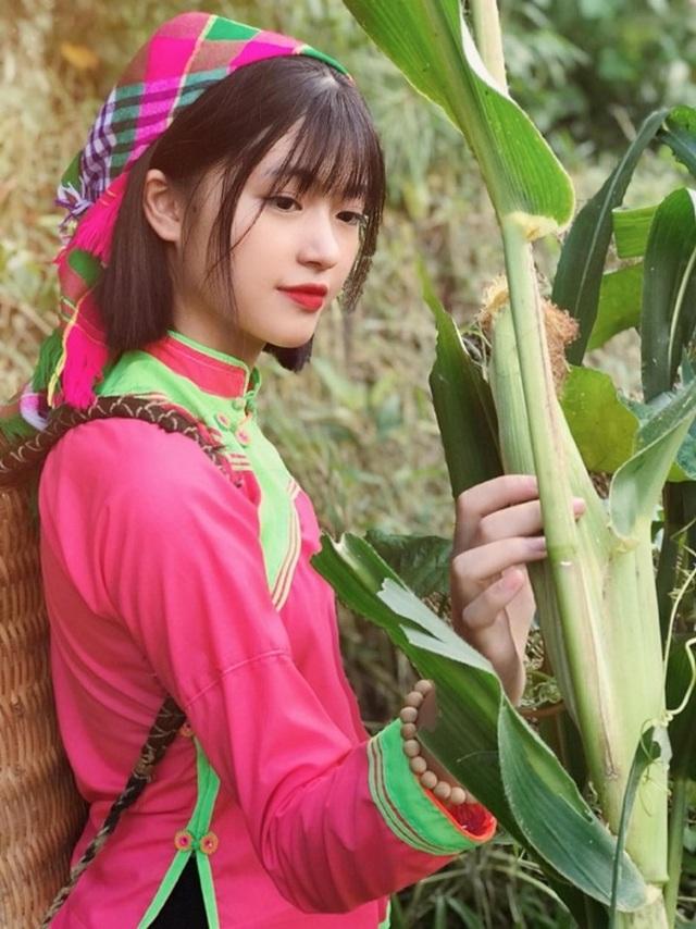 Xao xuyến nét đẹp trong sáng của cô gái dân tộc Giáy - 7