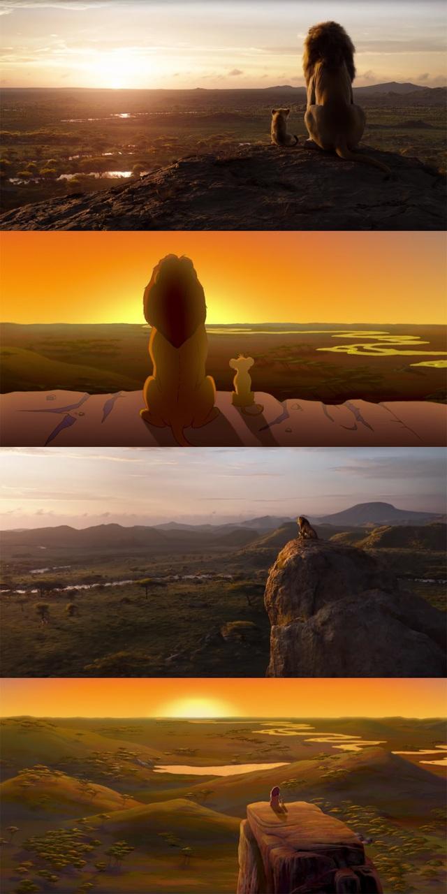 """18 khoảnh khắc đẹp không đổi thay của """"Vua sư tử"""" qua hai phiên bản - 5"""