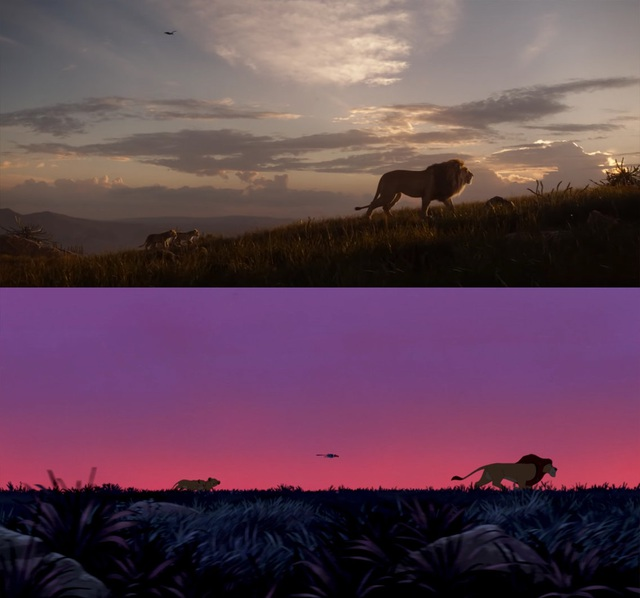 """18 khoảnh khắc đẹp không đổi thay của """"Vua sư tử"""" qua hai phiên bản - 6"""