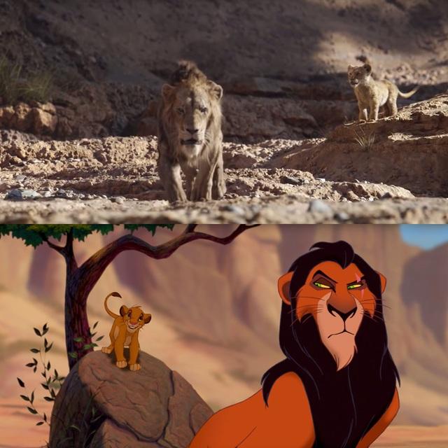 """18 khoảnh khắc đẹp không đổi thay của """"Vua sư tử"""" qua hai phiên bản - 8"""